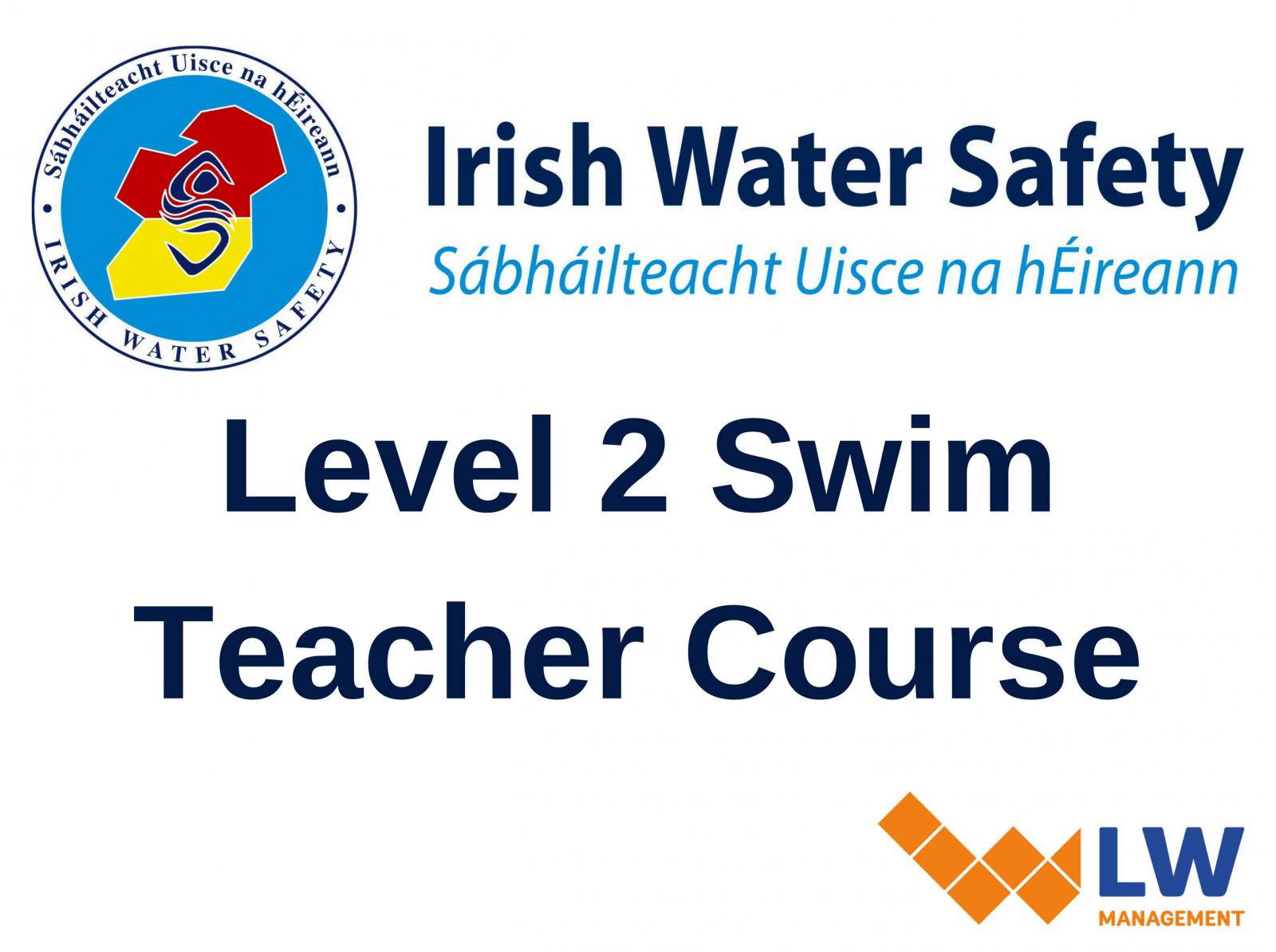 Level 2 Swim Teacher Course Lw Management