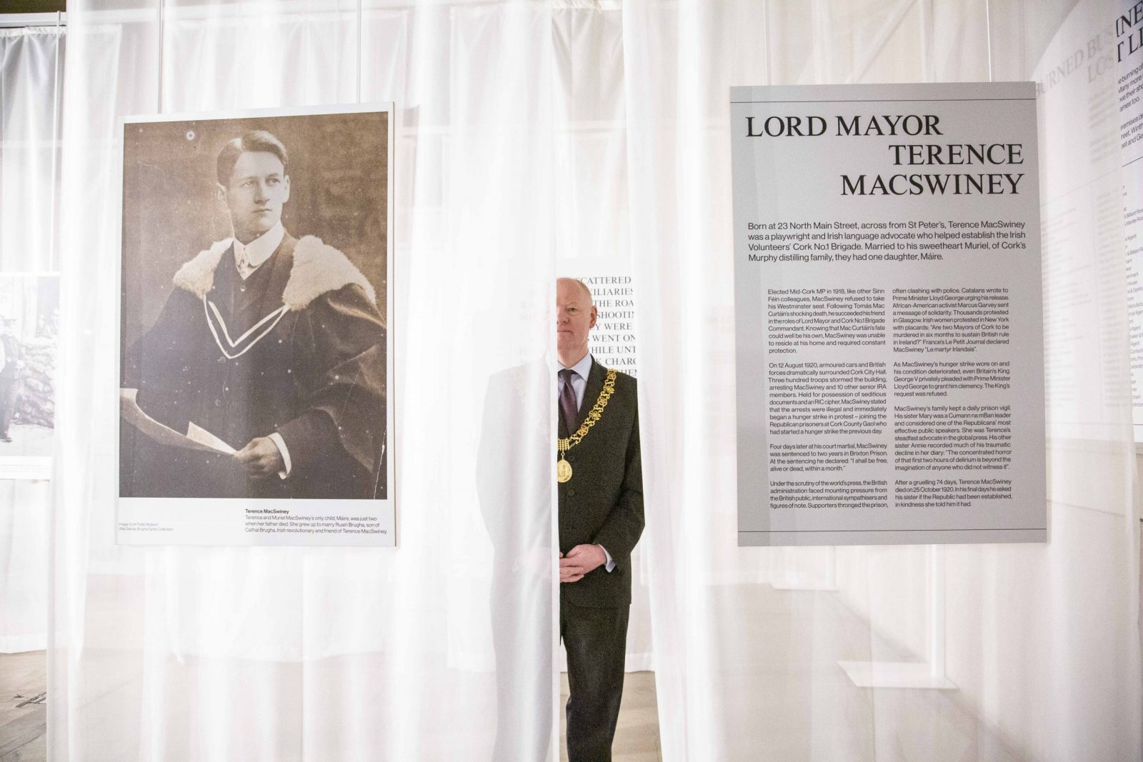 Lord Mayor Cllr John Sheehan Cork 1920